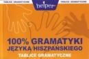 100% gramatyki języka hiszpańskiego - Tablice gramatyczne - Helper